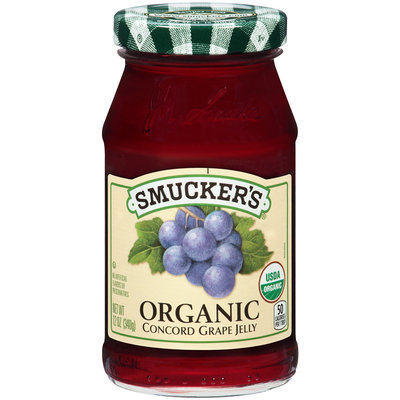 Smucker's® Organic Concord Grape Jelly 12 oz. Jar