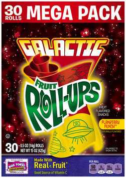 Fruit Roll-Ups™ Planetary Punch Fruit Flavored Snacks