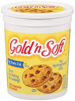 Greggs Gold-N-Soft 70% Vegetable Oil & No Hydrogenated Oils Spread 76 Oz Plastic Tub