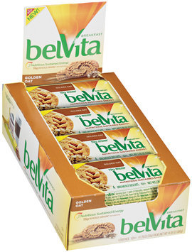 belVita Golden Oat Breakfast Biscuits 8 Ct Box