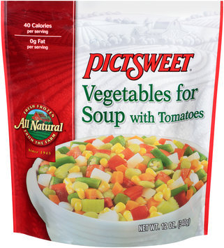 Pictsweet® Vegetables for Soup with Tomatoes 12 oz. Bag