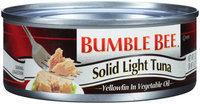 Bumble Bee® Solid Light Tuna in Vegetable Oil 5 oz. Can