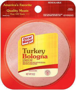 Oscar Mayer Cold Cuts Turkey Lower Fat Bologna