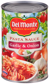 Del Monte® Garlic & Onion Pasta Sauce 24 oz. Can