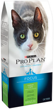Purina Pro Plan Focus Adult 11+ Indoor Care Turkey & Rice Formula Cat Food 3.5 lb. Bag