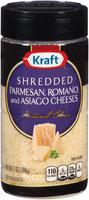 Kraft Shredded Parmesan, Romano & Asiago Cheeses 7 oz. Shaker