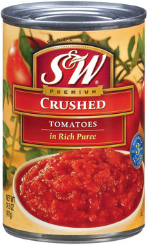 S&W® Crushed Tomatoes in Rich Puree