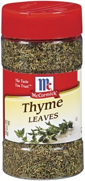McCormick  Thyme Leaves 3 Oz Shaker