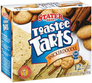 Stater Bros. Snickerdoodle 12 Ct Toaster Tarts 22 Oz Box