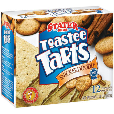 Stater Bros. Snickerdoodle 12 Ct Toaster Tarts 22 Oz Box