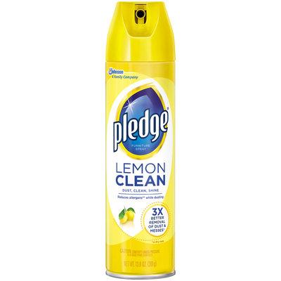 Pledge® Lemon Clean Furniture Spray 13.8 oz. Aerosol Can
