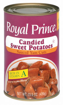 Royal Prince Candied  Sweet Potatoes 15.5 Oz Can