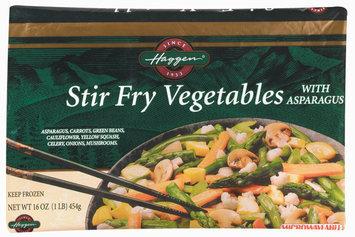 Haggen Stir Fry W/Asparagus Vegetables 16 Oz Bag