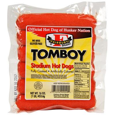 Fairbury Brand® Tomboy Stadium Hot Dogs 16 oz. Package