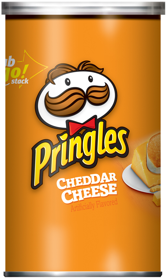 Pringles® Cheddar Cheese Potato Crisps