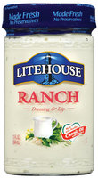 Litehouse Ranch Dressing & Dip 13 Fl Oz Jar