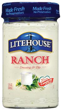 Litehouse Ranch Dressing & Dip 13 Fl Oz Jar