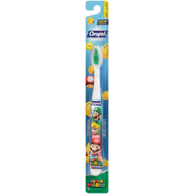 Orajel™ Super Mario™ Soft Toothbrush Carded Pack