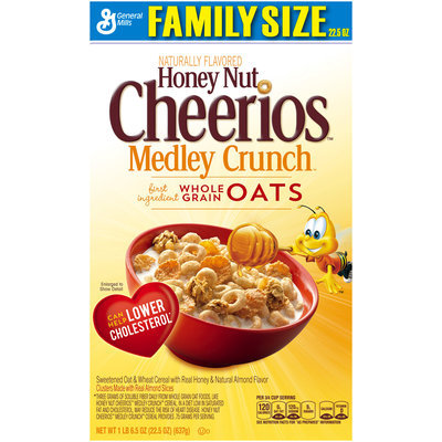 Honey Nut Cheerios Medley Crunch Cereal