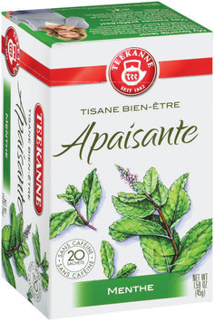 Teekanne Herbal Wellness Purely Peppermint Tea Tea Bags 20 Ct Box