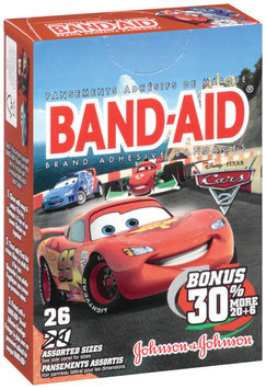 Band-Aid® Cars 2 Assorted 26 ct