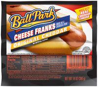 Ball Park® Original Cheddar Cheese Franks 14 oz. Pack