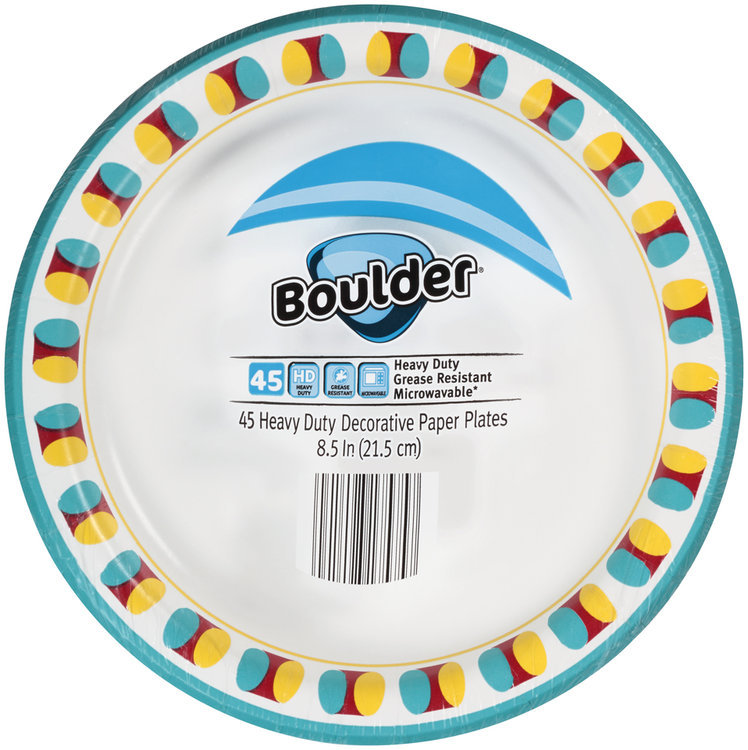 heavy duty decorative paper plates 45 ct pack reviews - Decorative Paper Plates