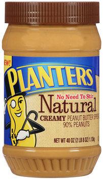 Planters Natural Creamy Peanut Butter Spread 40 oz. Jar