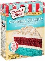 Duncan Hines® Summer Velvets™ Cake Mixes 17.6 oz. Box