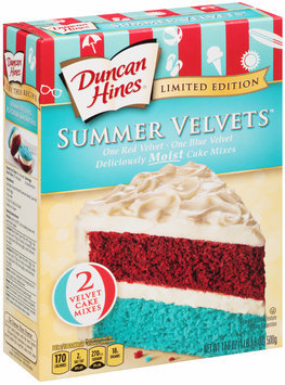 Duncan Hines® Summer Velvets™ Cake Mixes