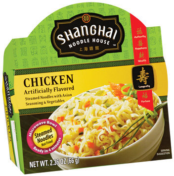 Shanghai Noodle House Chicken Steamed Noodles 2.36 Oz Microwave Bowl
