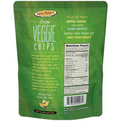 Mrs. May's™ Naturals Crispy Veggie Chips Garden Fresh Mix 4 oz. Stand-up Bag