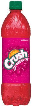 CRUSH Strawberry Soda 16.9 OZ PLASTIC BOTTLE