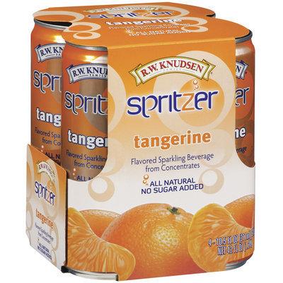 R.W. Knudsen Tangerine 10.5 Fl Oz Spritzer 4 Ct Pack