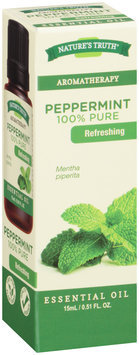 Nature's Truth® Aromatherapy Peppermint 100% Pure Essential Oil 0.51 fl. oz. Box