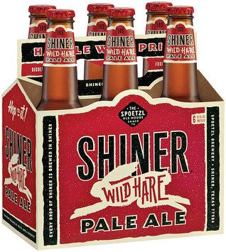 Shiner Anniversary 12 Oz Beer 6 Pk Glass Bottles