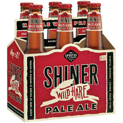 Shiner Anniversary 12 Oz Beer 6 Pk Glass Bottles