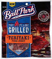 Ball Park® The Flame Grilled Teriyaki Pork Jerky 2.85 oz. Bag