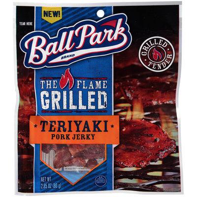 Ball Park® The Flame Grilled Teriyaki Pork Jerky 2.85 oz. Bag