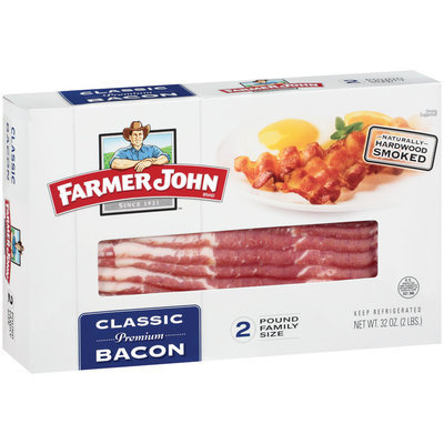 Farmer John® Classic Bacon 32 oz. Box
