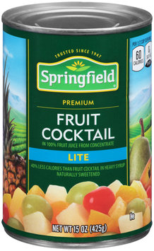 Springfield® Lite Fruit Cocktail 15 oz. Can