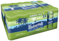 Tradewinds Green Tea with Honey 24-23 fl. oz. Cans