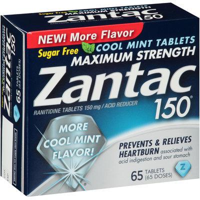 Zantac 150® Maximum Strength Cool Mint 65 count