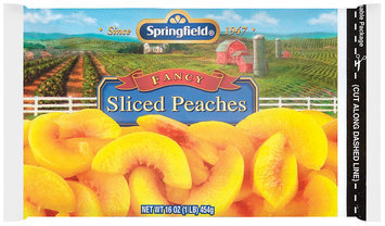 Springfield® Fancy Sliced Peaches 16 oz. Bag