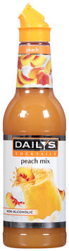 Daily's® Cocktails Non-Alcoholic Peach Mix 33.8 fl. oz. Bottle