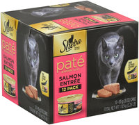 Sheba® Pate in Natural Juices Salmon Entree Cat Food 12-3 oz. Cans