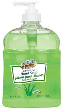 Special Value Antibacterial Aloe Hand Soap 16.9 Fl Oz Pump