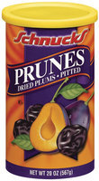 Schnucks Dried Plums Pitted Prunes 20 Oz Canister