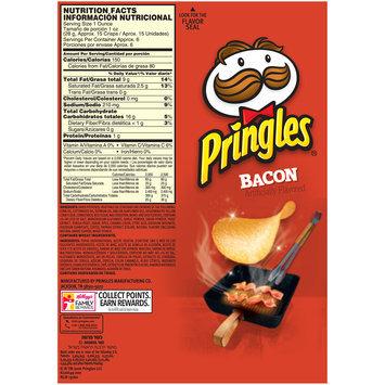 Pringles® Bacon Potato Crisps 5.5 oz. Canister