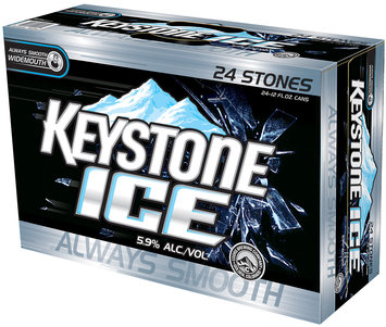Keystone Ice 12 Oz Cans Beer 24 Pk Suitcase